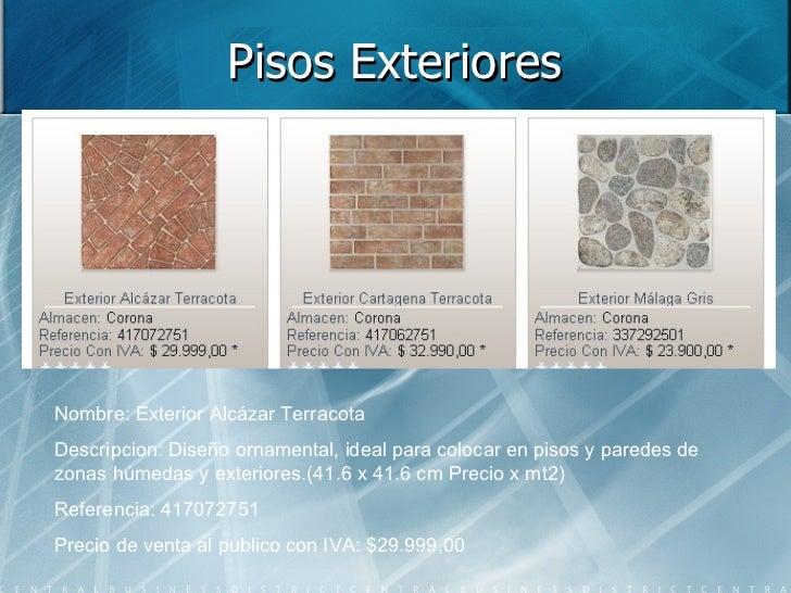 Piso en concreto for Pisos antideslizantes para exteriores