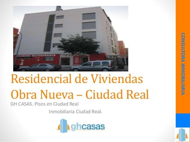 Venta de pisos en ciudad real for Compartir piso ciudad real