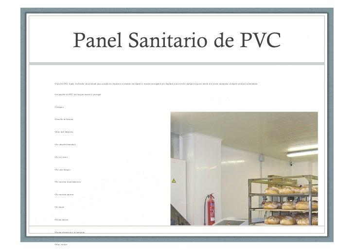 Cocinas industriales recubrimiento para pisos plaf n y for Paneles de pvc para paredes