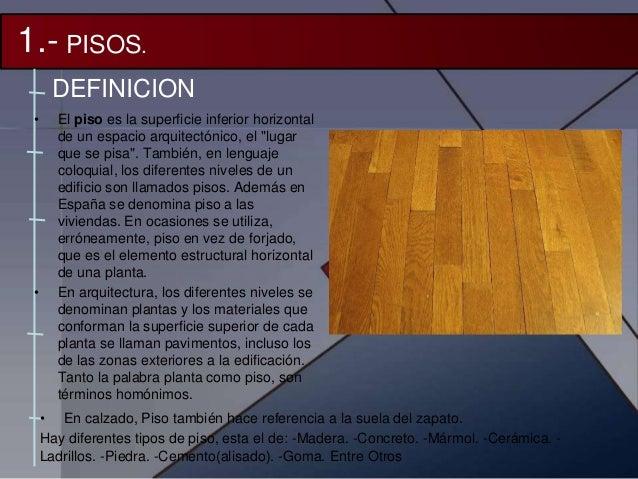 pisos y pavimentos procesos constructivos