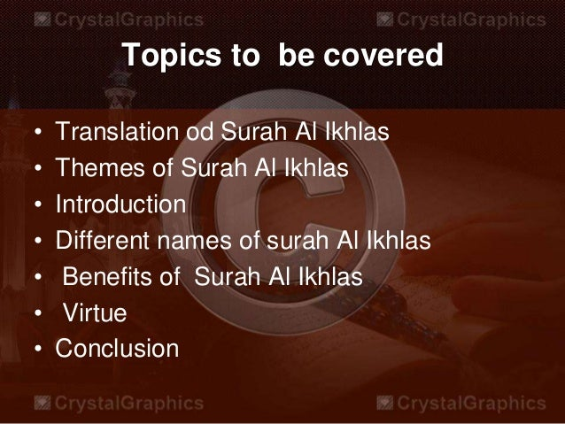 benefits of surah ikhlas And the prophet (s) that night was reciting sūrah al-ikhlās until the morning   always ask us to recite it 1000 times a day and there will be a great benefit in it.