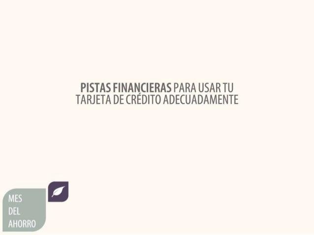 Pistas financieras para usar tu tarjeta de crédito adecuadamente