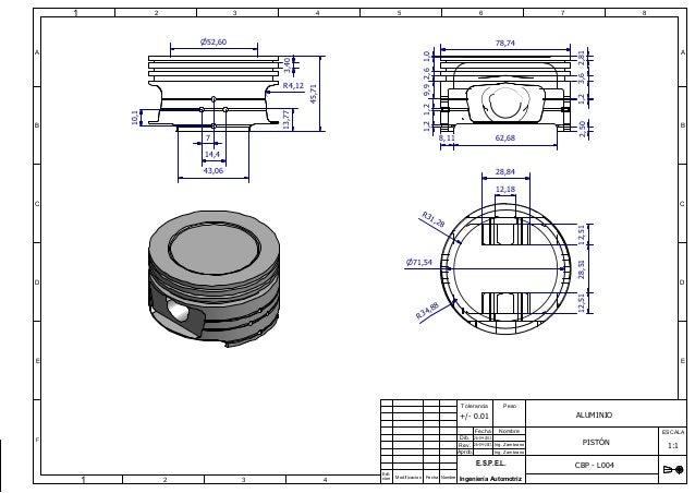 modelo piston modificado