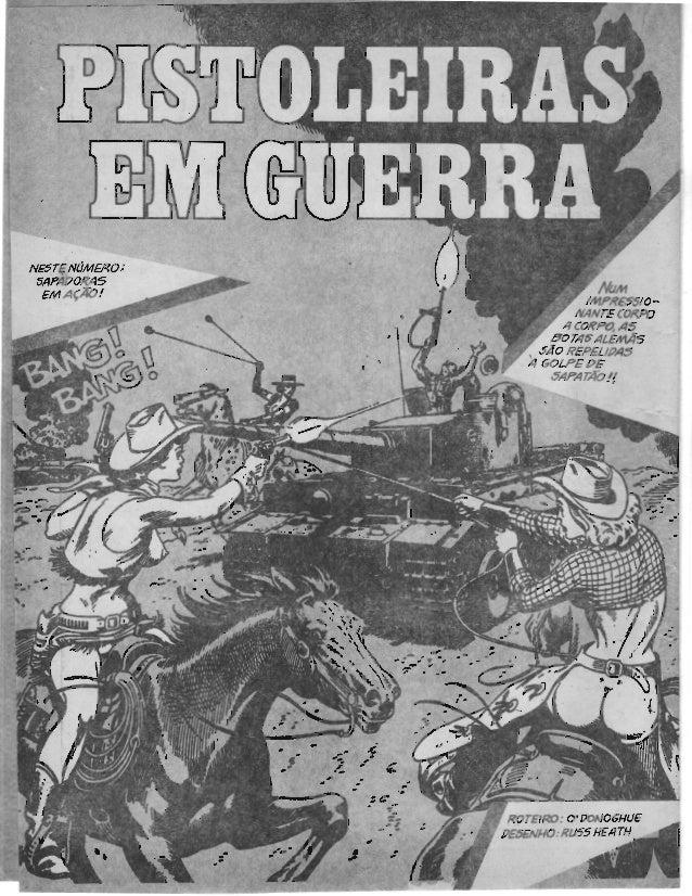 Pistoleiras em guerra