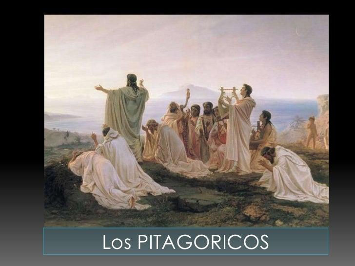 Los PITAGORICOS