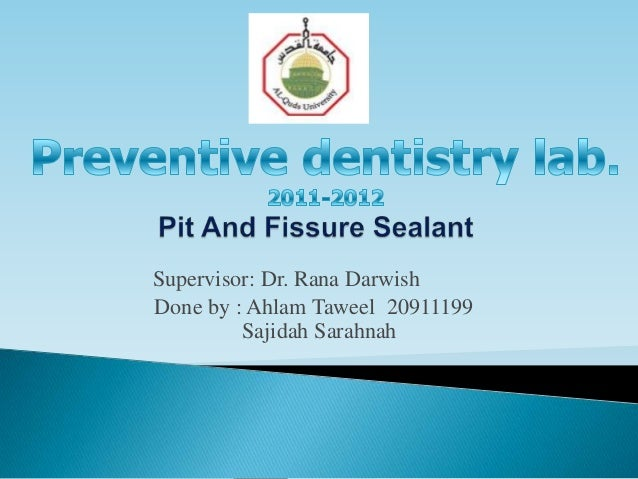 Supervisor: Dr. Rana DarwishDone by : Ahlam Taweel 20911199         Sajidah Sarahnah