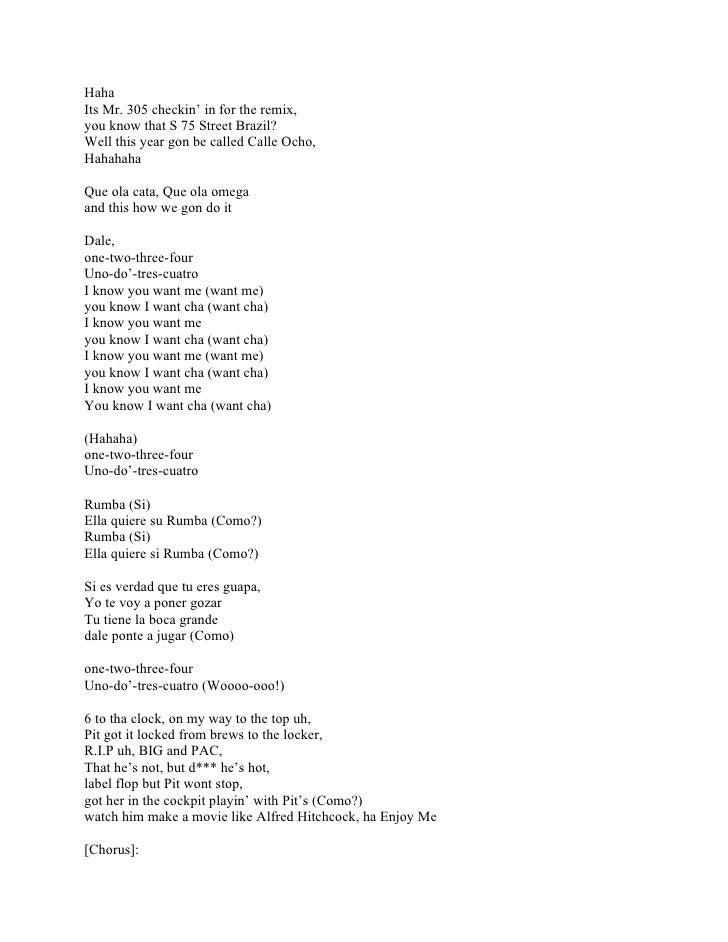 How bad do you want me lyrics