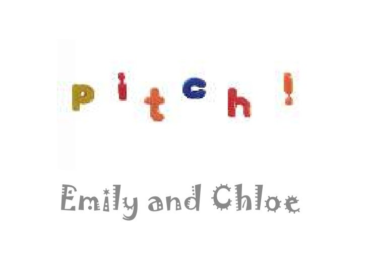 Emily and Chloe <br />