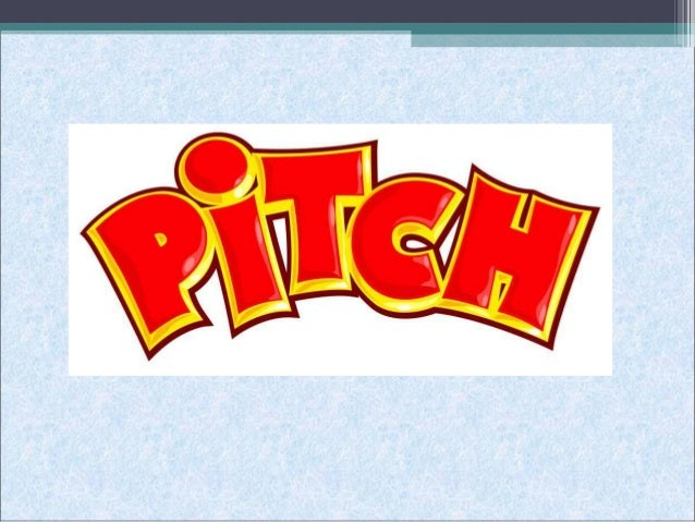 What is pitch? • In music the pitch of a sound   means how high or low a note is. • Musical pitches are relative, any   no...