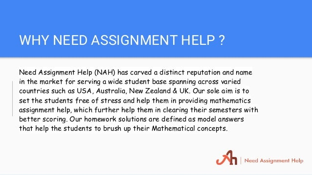 mathematics assignment help 16 why need assignment help