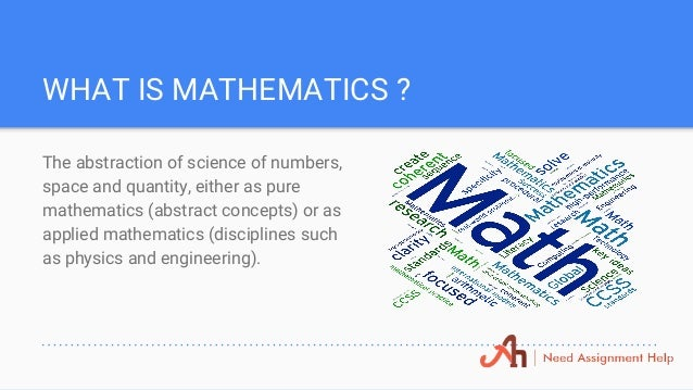 mathematics assignment help thank you 3 what is mathematics