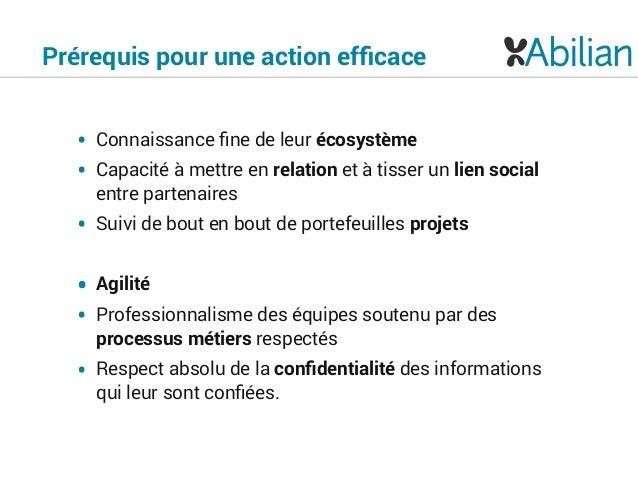 Présentation Abilian SICS-PC - plateforme métier pour les acteurs de l'innovation et de la compétitivité Slide 3