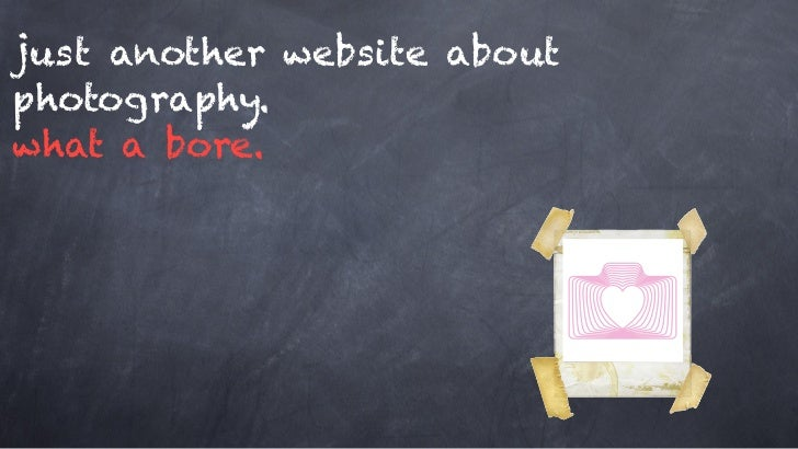just another website aboutphotography.what a bore.
