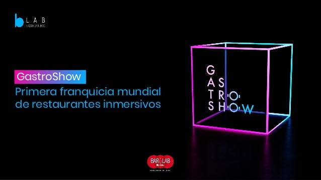 GastroShow Primera franquicia mundial de restaurantes inmersivos