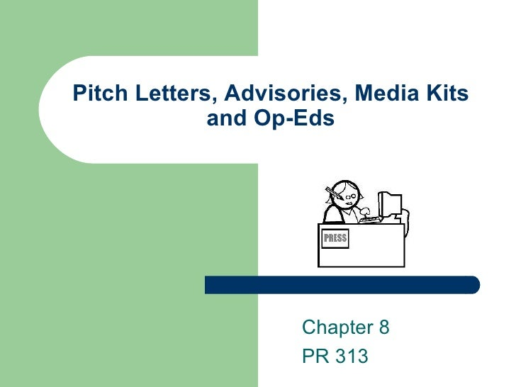 pitch letter pr assignment A press release, news release, media  the format is supposed to help journalists separate press releases from other pr communication methods, such as pitch.