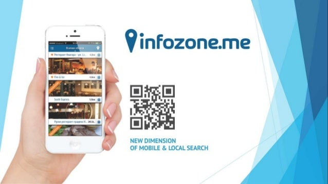 Product -  Ultimate tool for mobile and local search (Google for smartphones)  -  A platform to interact in various ways w...