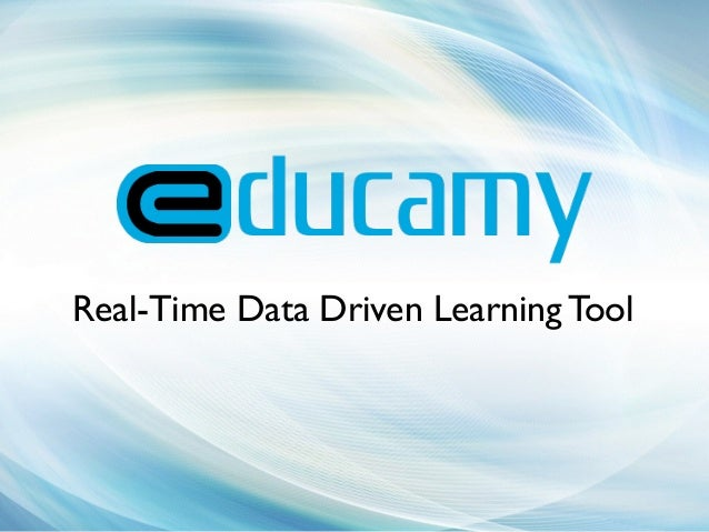Real-Time Data Driven Learning Tool