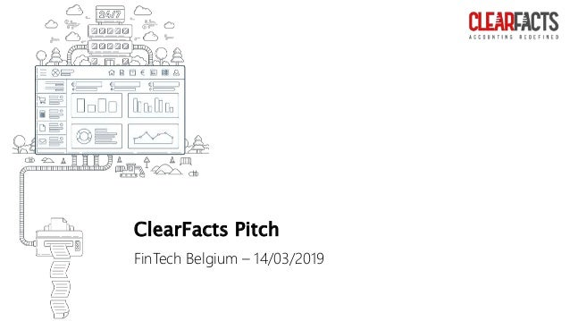 ClearFacts Pitch FinTech Belgium – 14/03/2019