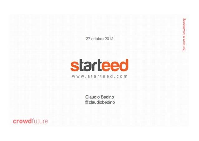 Starteed - Claudio Bedino
