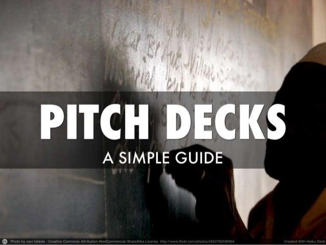 Pitch deck