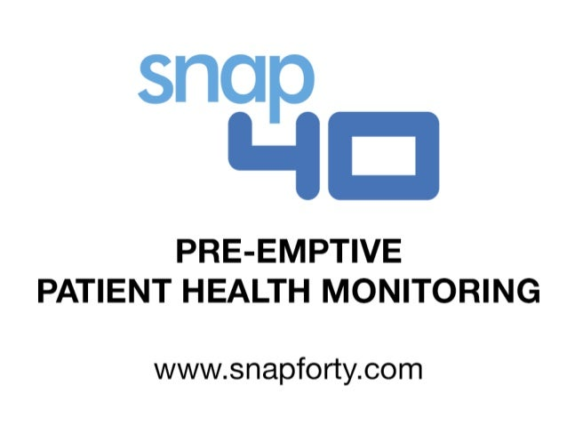 Pre-emptive patient health monitoring