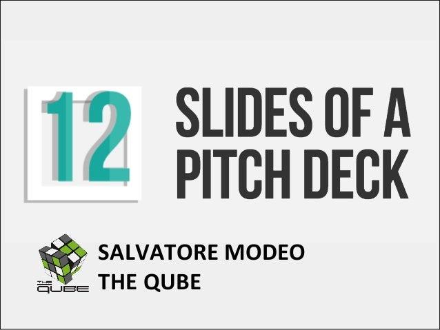 SALVATOREMODEO THEQUBE