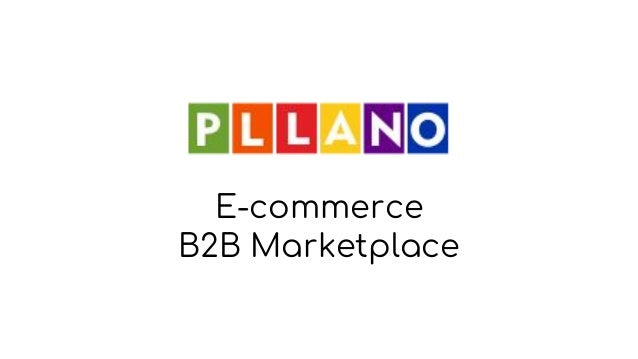 E-commerce B2B Marketplace