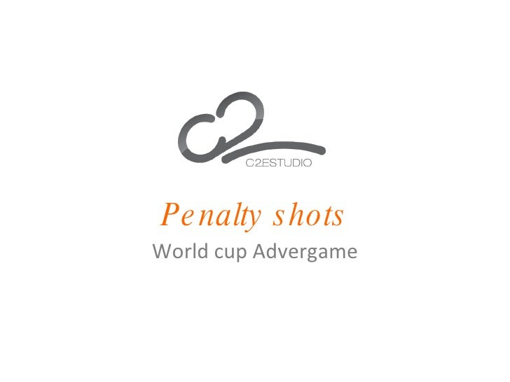 Penalty shots World cup Advergame
