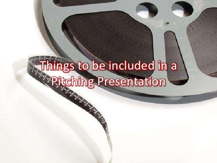 Film Pitching Slide 2