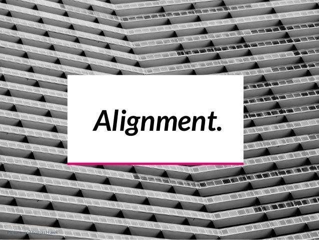 Alignment. Picture cc Thomas Hawk