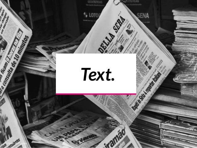 Text. Picture cc Dyylan