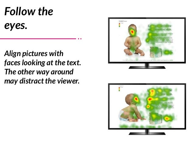 Follow the eyes. Align pictures with faces looking at the text. The other way around may distract the viewer.