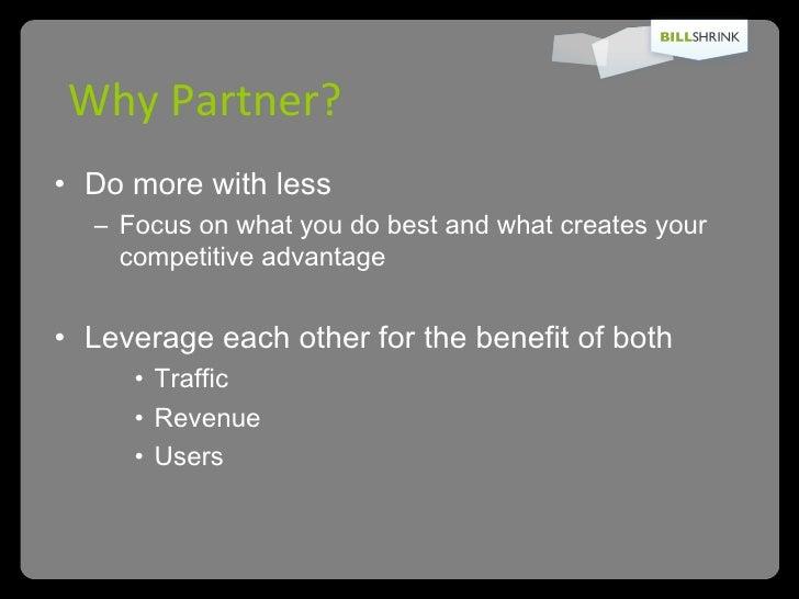Pitching And Packaging For Partnerships   Peter Pham   Startonomics La 2009 Slide 2