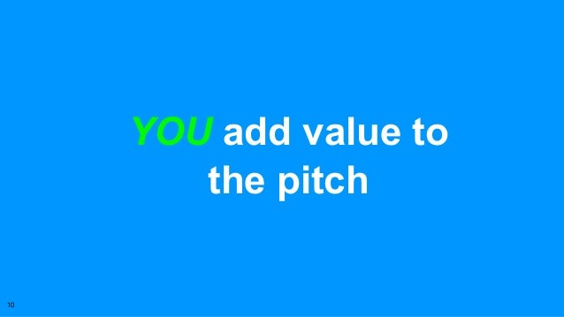 Pitching With Passion, Make Your Startup Stand Out