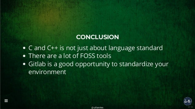 Gitlab - Creating C++ applications with Gitlab CI