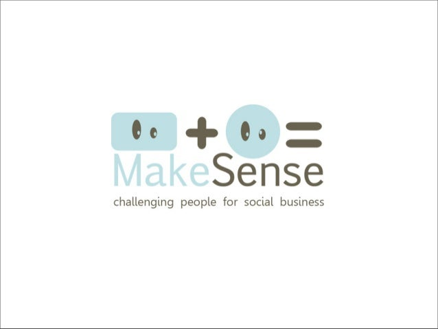 Believe me, I know the problem I'm trying to solve :) Hello, I'm a Social Entrepreneur !