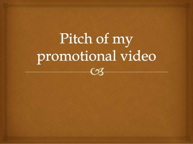 Introduction                    For this project I will be creating a promotional video  for the creative media course a...