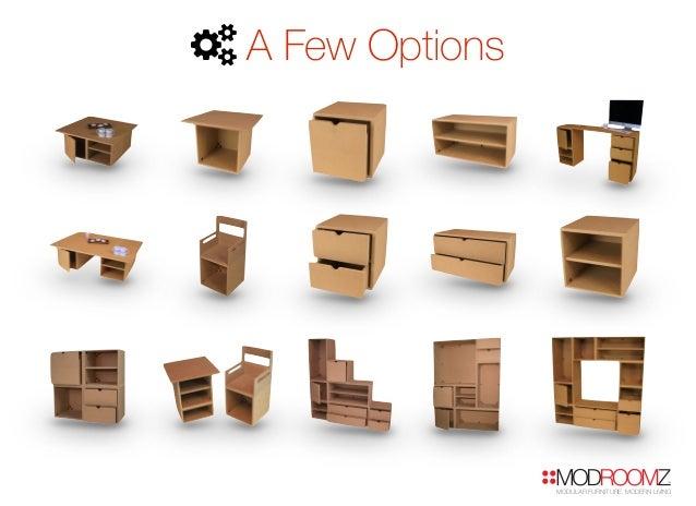 ModRoomz Modular Furniture Pitch Presentation