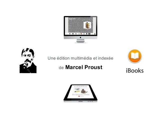 Une édition multimédia et indexée de  Marcel Proust