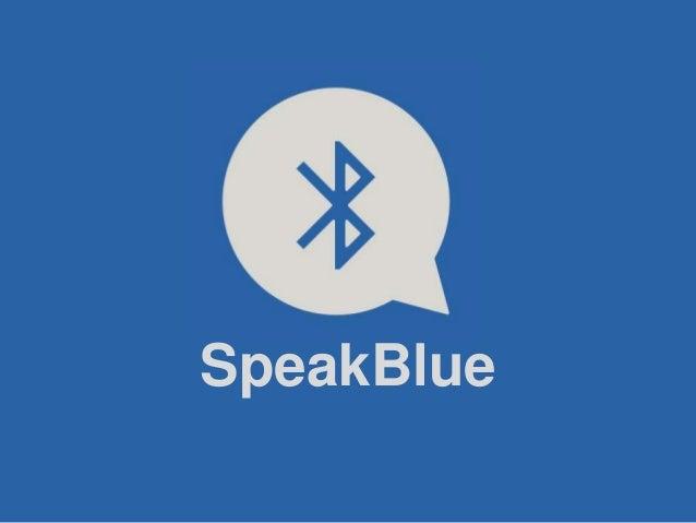 SpeakBlue