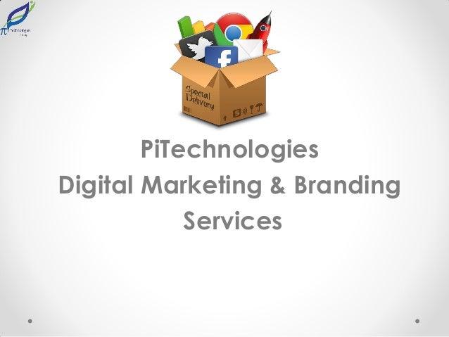 PiTechnologies Digital Marketing & Branding Services
