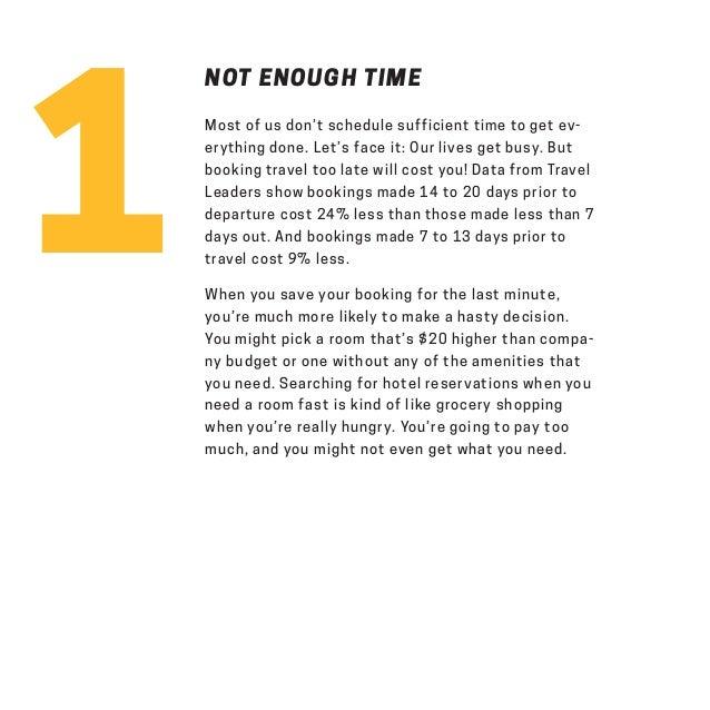 7 Deadly Pitfalls of Business Travel  Slide 3