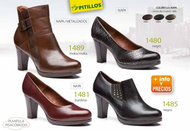 garantía limitada gran descuento obtener online Catalogo Zapatos Pitillos Otoño Invierno 2015 2016