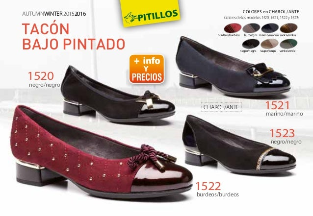 Catalogo Chaussures Pitillos Automne Hiver 2015 2016
