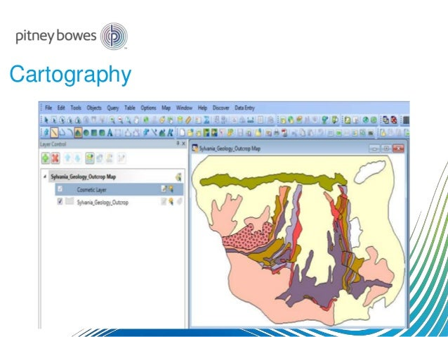Exploration and 3D GIS Software - MapInfo Professional Discover3D 2015