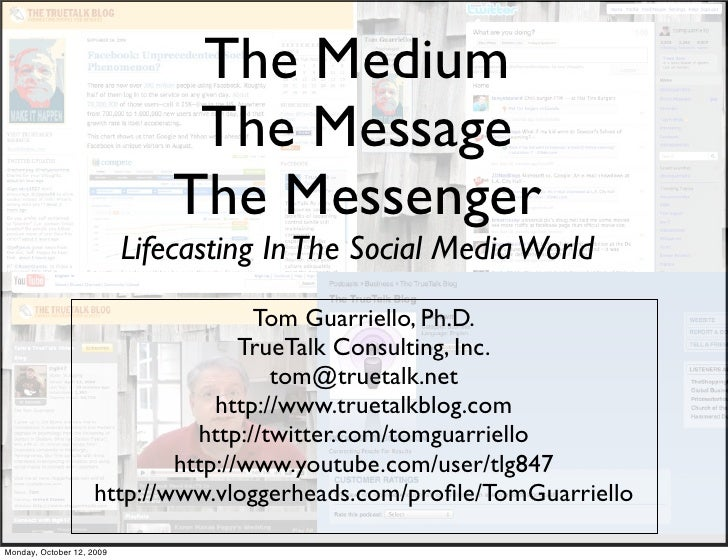 The Medium                                 The Message                                The Messenger                       ...