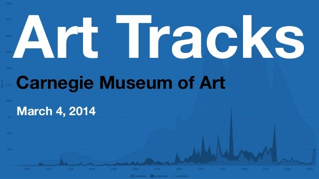 Art Tracks Carnegie Museum of Art March 4, 2014