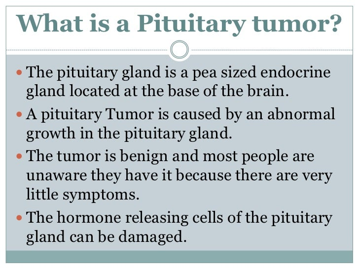 pituitary tumor powerpoint table 3, Human Body