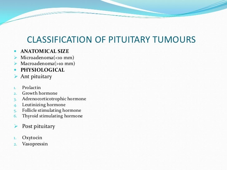 Pituitary Tumours