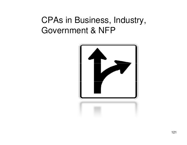 CPAs in Business, Industry, Government & NFP                                   121